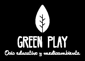 Logo blanco Green Play